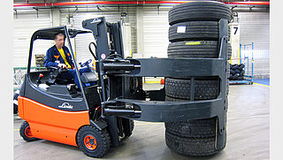 Rotating Tyre Clamp T458BR